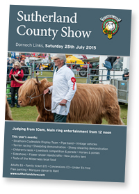 Sutherland County show 2015