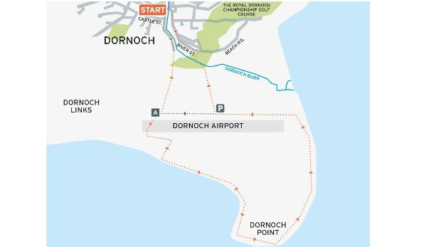 Dornoch Point Walk