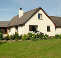 Holiday in Scotland at a Dornoch B&B