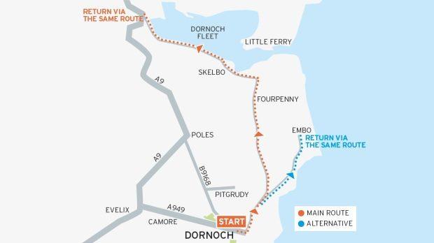 Loch Fleet Cycle Route