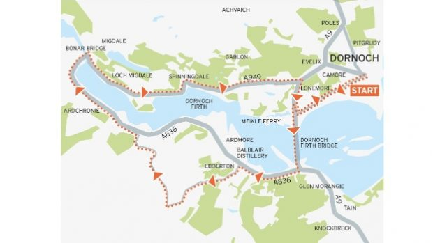 Kyle Loop Cycle route