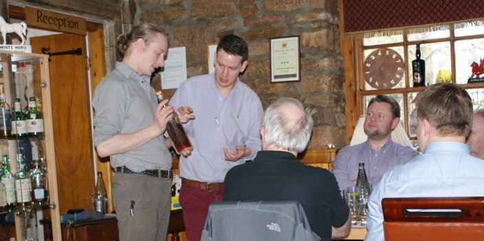 Dornoch Castle Whisky Tasting