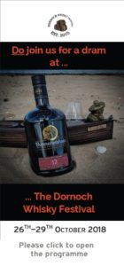 Dornoch Whisky Festival