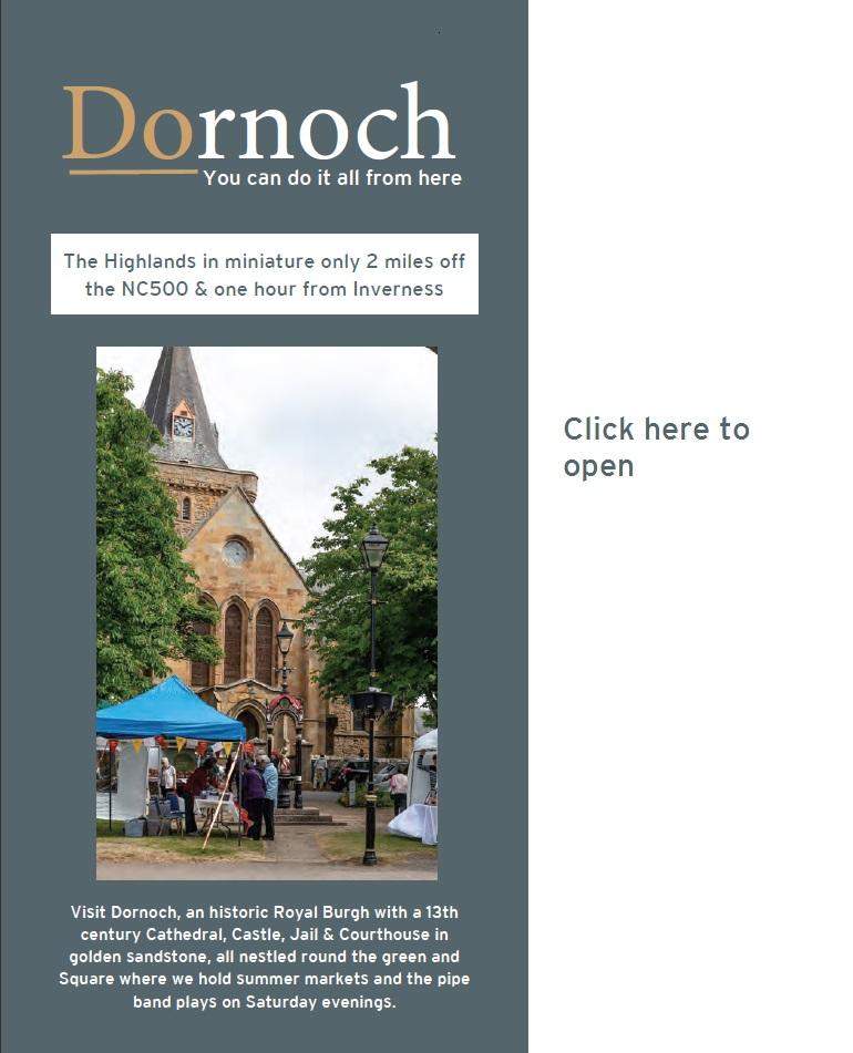 Dornoch Leaflet 2019